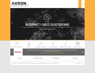 akron.net.pl screenshot