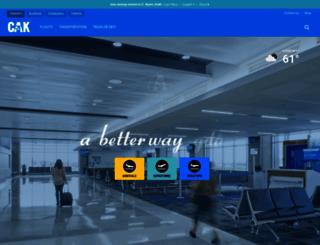 akroncantonairport.com screenshot