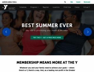 akronymca.org screenshot