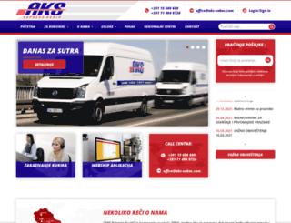 aks-sabac.com screenshot