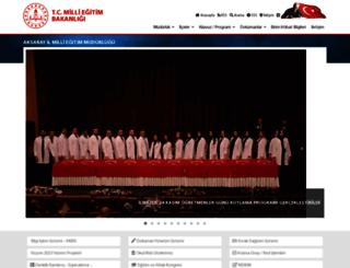 aksaray.meb.gov.tr screenshot