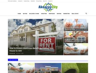 aksaraycity.com screenshot