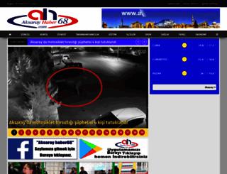 aksarayhaber68.com screenshot