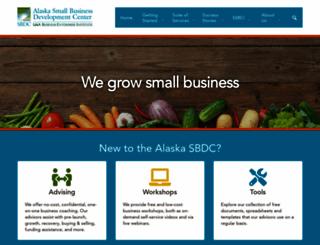 aksbdc.org screenshot