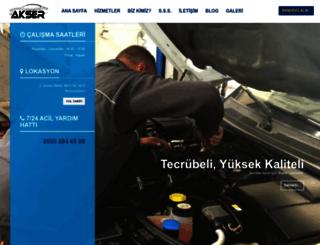 akserotoservis.com screenshot