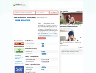 aksharangal.com.cutestat.com screenshot