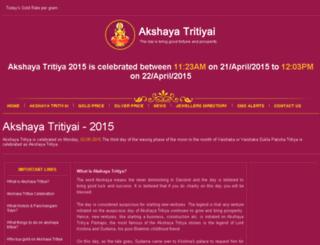 akshayatriti.com screenshot