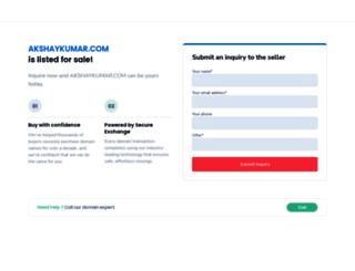 akshaykumar.com screenshot