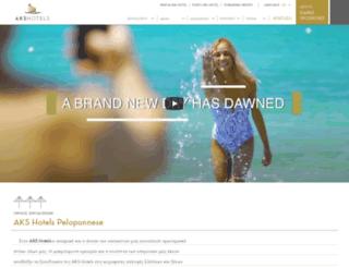 akshotels.com screenshot