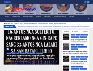 aksyonradyoiloilo.com.ph screenshot