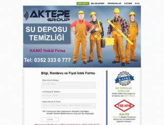 aktepetemizlik.com screenshot
