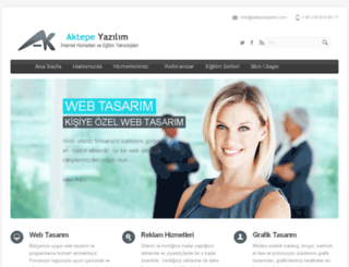 aktepeyazilim.com screenshot