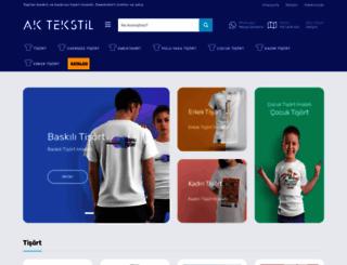 aktextile.com screenshot