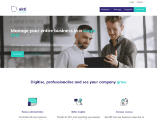 akti.com screenshot