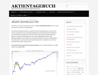 aktientagebuchblog.de screenshot