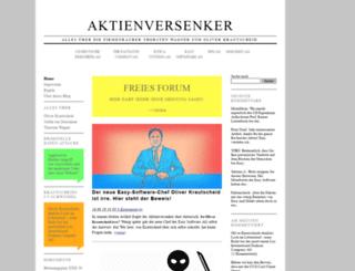 aktienversenker.de screenshot