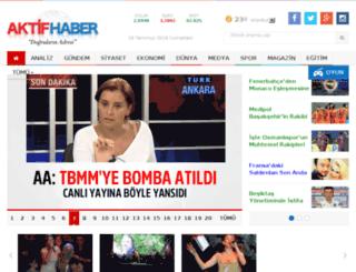 aktifhaber.com.tr screenshot
