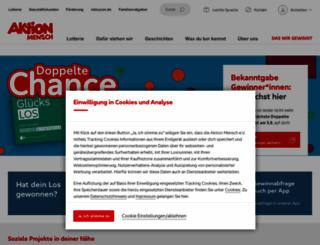 aktion-mensch.de screenshot