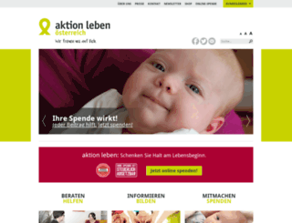 aktionleben.at screenshot
