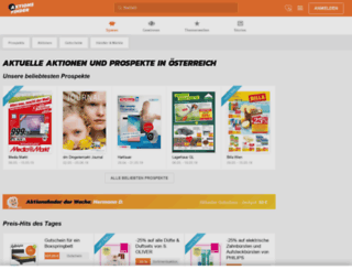aktionsfinder.com screenshot
