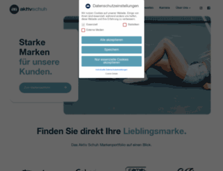 aktiv-schuh.de screenshot