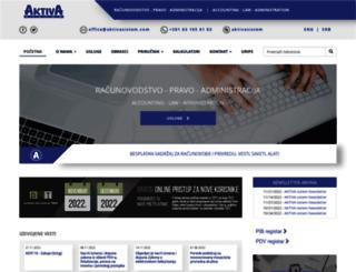 aktivasistem.com screenshot