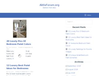 aktivforum.org screenshot