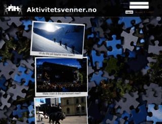 aktivitetsvenner.no screenshot