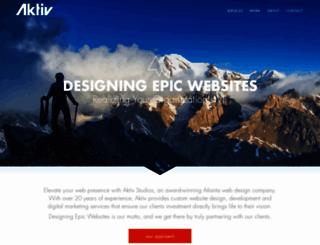 aktivwebsolutions.com screenshot