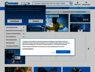 aktuell.conrad.de screenshot