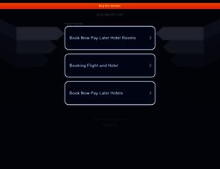 aktuell.pro-berlin.net screenshot