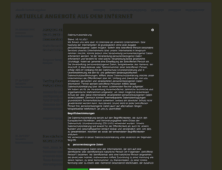 aktuelle-online-angebote.de screenshot