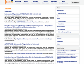 aktuelles.deutsches-seniorenportal.de screenshot