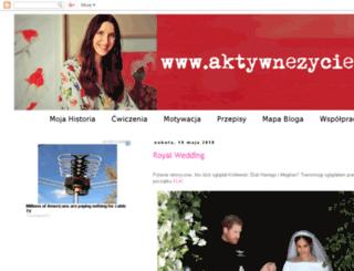 aktywnezycie.com screenshot