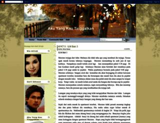 aku-kautinggalkan.blogspot.com screenshot