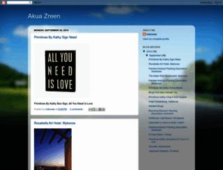 akuazreen.blogspot.com screenshot