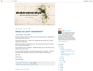 akubersamacahya.blogspot.com screenshot