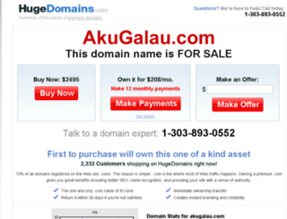 akugalau.com screenshot