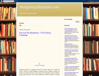 akugaring.blogspot.com screenshot