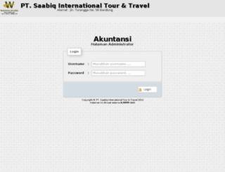 akuntansisaabiq.bk27.net screenshot