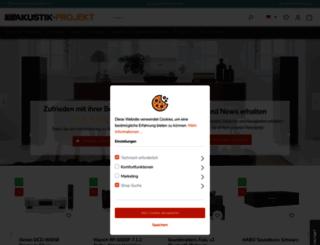 akustik-projekt.at screenshot