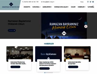 akv.org.tr screenshot