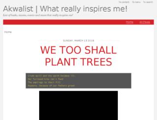 akwalist.com.ng screenshot