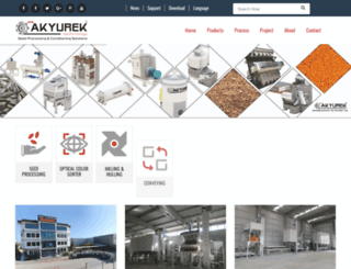 akyurekltd.com screenshot