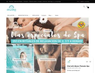 akzaraspa.com screenshot
