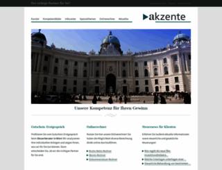 akzente.at screenshot