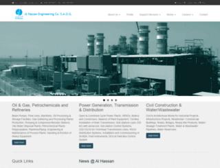 al-hassan.com screenshot