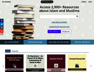 al-islam.org screenshot