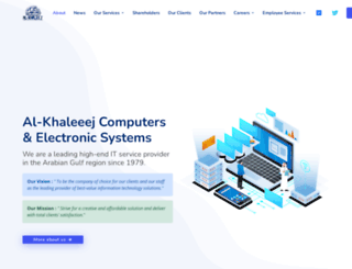 al-khaleej.net screenshot