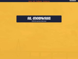 al-modwahi.com screenshot